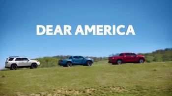 Toyota Dear America Sales Event TV Spot, 'Let Freedom Ring' [T2] - Thumbnail 1