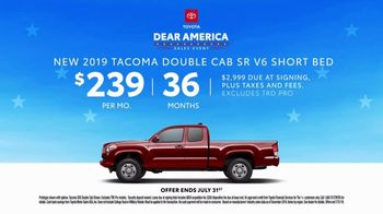 Toyota Dear America Sales Event TV Spot, 'Let Freedom Ring' [T2] - Thumbnail 8