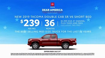 Toyota Dear America Sales Event TV Spot, 'Let Freedom Ring' [T2] - Thumbnail 9