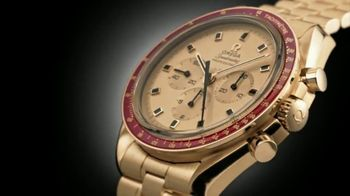 OMEGA 50th Anniversary Moonlanding Speedmaster TV Spot, 'Worn on the Moon' - Thumbnail 4