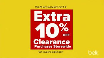 Belk End of Season Clearance Blowout TV Spot, 'Kids Tees and Shorts, Men's Tees and Women's Knits' - Thumbnail 5