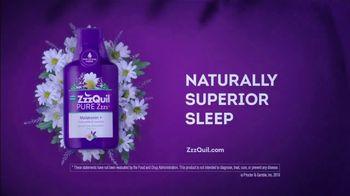 Vicks ZzzQuil Pure Zzzs Liquid Melatonin Sleep-Aid TV Spot, 'Unique Botanical Blend' - Thumbnail 9