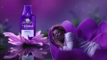 Vicks ZzzQuil Pure Zzzs Liquid Melatonin Sleep-Aid TV Spot, 'Unique Botanical Blend' - Thumbnail 6