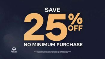 Ashley HomeStore Midnight Madness TV Spot, 'No Minimum Purchase' - Thumbnail 3