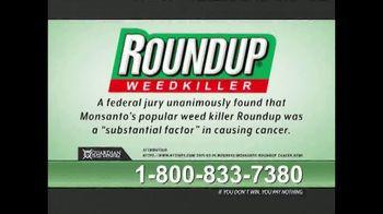 Guardian Legal Network TV Spot, 'Roundup Compensation' - Thumbnail 1