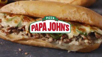 Papa John's Oven-Baked Heroes TV Spot, 'Stuffed' - Thumbnail 2