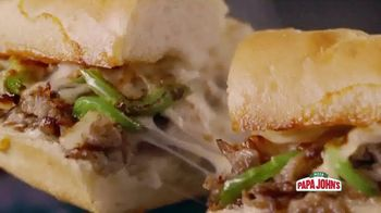 Papa John's Oven-Baked Heroes TV Spot, 'Stuffed' - Thumbnail 4