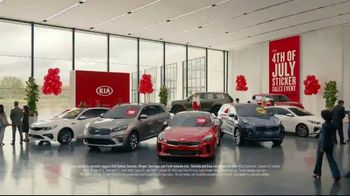 Kia 4th of July Sticker Sales Event TV Spot, 'Look for a Sticker and Save' [T2] - Thumbnail 1