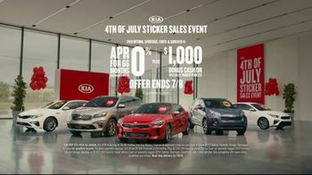 Kia 4th of July Sticker Sales Event TV Spot, 'Look for a Sticker and Save' [T2] - Thumbnail 9