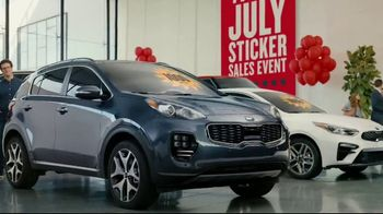 Kia 4th of July Sticker Sales Event TV Spot, 'Look for a Sticker and Save' [T2] - Thumbnail 5