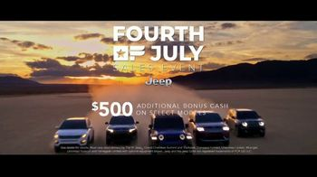 Jeep Fourth of July Sales Event TV Spot, 'Set Yourself Free' Song by This Will Destroy You [T2] - Thumbnail 8