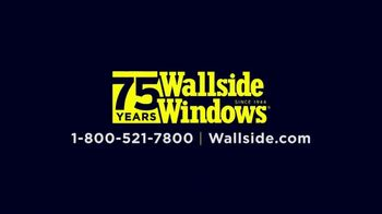 Wallside Windows TV Spot, 'Buy One Get One: Extra $75 Off' - Thumbnail 8