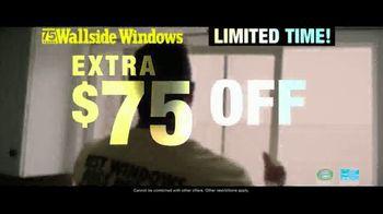 Wallside Windows TV Spot, 'Buy One Get One: Extra $75 Off' - Thumbnail 3
