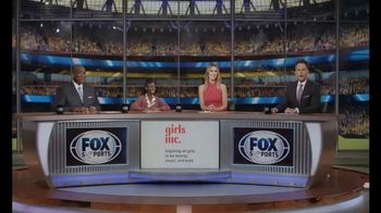 Girls Inc. TV Spot, 'FOX Sports: Fuel Their Fire' - 24 commercial airings