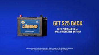 NAPA Auto Parts TV Spot, '$25 Back on Batteries' - Thumbnail 4