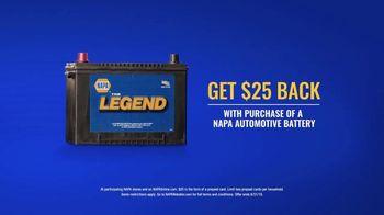 NAPA Auto Parts TV Spot, '$25 Back on Batteries' - Thumbnail 5