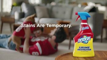 Resolve Urine Destroyer TV Spot, 'Football' - Thumbnail 5