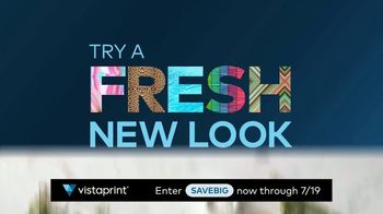 Vistaprint Right Now Sale TV Spot, 'July Semi-Annual Sale'