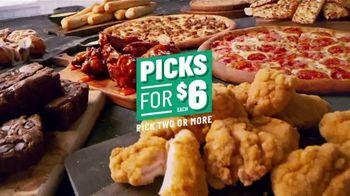 Papa John's Picks For $6 TV Spot, 'Pick Two or More'