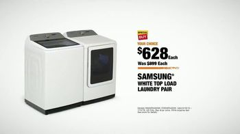 The Home Depot TV Spot, 'Fuel Your Team: Samsung Laundry Pair' - Thumbnail 9