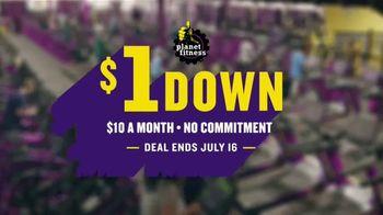 Planet Fitness TV Spot, '$1 Down No Commitment' - Thumbnail 9