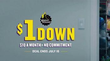Planet Fitness TV Spot, '$1 Down No Commitment' - Thumbnail 1