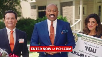 Publishers Clearing House TV Spot, '5,000 a Week for Life: Good News' Featuring Steve Harvey - 3076 commercial airings