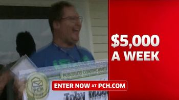 Publishers Clearing House TV Spot, '5,000 a Week for Life: Good News' Featuring Steve Harvey - Thumbnail 6