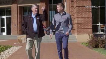 Liberty University TV Spot, 'Part of Something Bigger' Featuring William Byron - Thumbnail 5