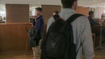 Liberty University TV Spot, 'Part of Something Bigger' Featuring William Byron - Thumbnail 8