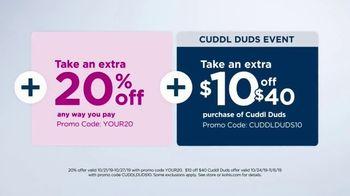 Kohl's 50 Percent Off Sale TV Spot, 'CuddlDuds' - Thumbnail 4