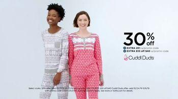 Kohl's 50 Percent Off Sale TV Spot, 'CuddlDuds' - Thumbnail 5