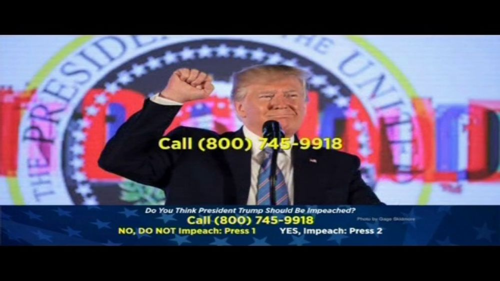 American Polling, LLC TV Commercial, 'Impeachment Poll'