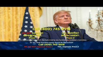 American Polling, LLC TV Spot, 'Impeachment Poll' - Thumbnail 4