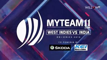 MyTeam11 TV Spot, 'ODI Series: West Indies vs. India' - Thumbnail 2