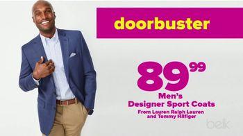 Belk Fall Frenzy TV Spot, 'Men's Sportscoats, Towels & Women's Fashion'