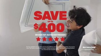 Mattress Firm Save Big Sale TV Spot, 'Ends Tuesday: Save Up to $400 and Sign Save Sleep' - Thumbnail 4