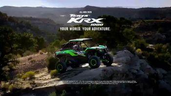 2020 Kawasaki Teryx KRX 1000 TV Spot, 'Your World, Your Adventure' - Thumbnail 8