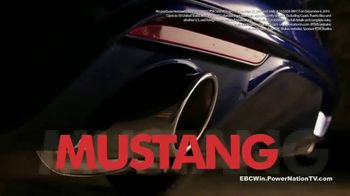 EBC Brakes Sweepstakes TV Spot, 'Mustang GT: Power Nation' - Thumbnail 3