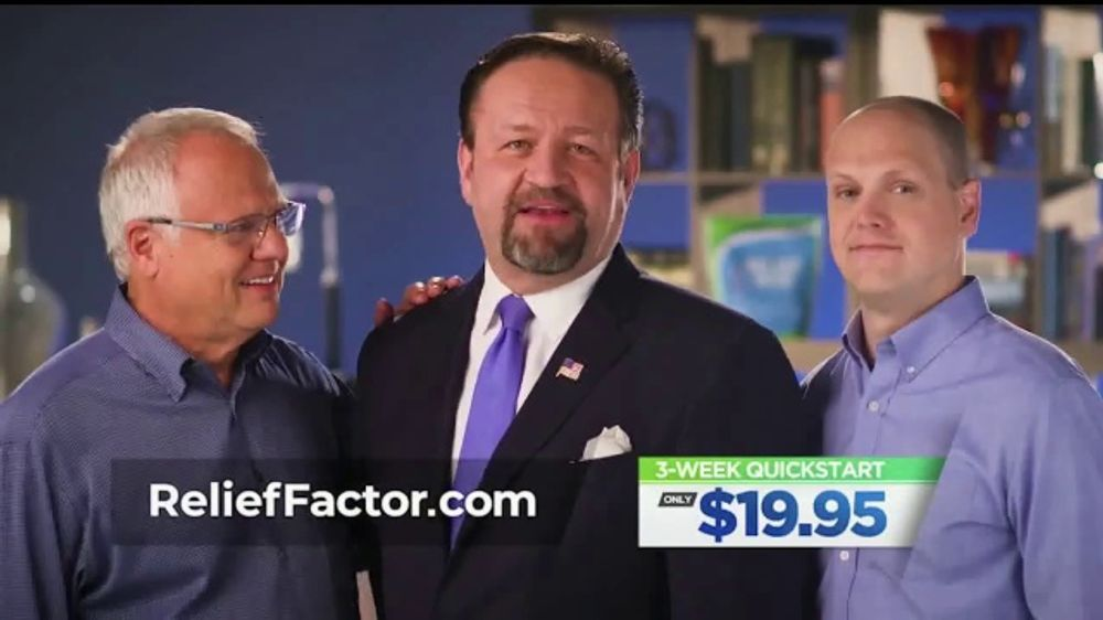 Relief Factor 3-Week Quickstart TV Commercial, 'Dale's Review' Featuring Dr. Sebastian Gorka
