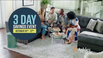 Ashley HomeStore 3 Day Savings Event TV Spot, 'Recliners, Sofas and Beds' Song by Midnight Riot - Thumbnail 2