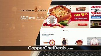 Copper Chef Site-Wide Sales Event TV Spot, '8 Dollar Deals' - Thumbnail 1