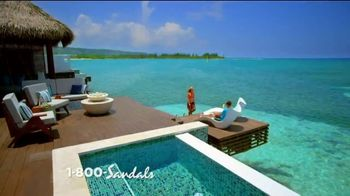 Sandals Resorts TV Spot, 'One of a Kind' Song by Krissie Karlsson - Thumbnail 2