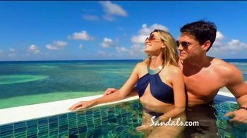 Sandals Resorts TV Spot, 'One of a Kind' Song by Krissie Karlsson - Thumbnail 5