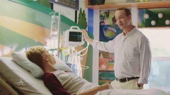 Peyton Manning Children's Hospital TV Spot, 'Beats' Featuring Peyton Manning - Thumbnail 2