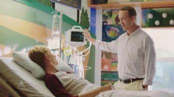 Peyton Manning Children's Hospital TV Spot, 'Beats' Featuring Peyton Manning - Thumbnail 3