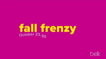 Belk Fall Frenzy TV Spot, 'Fleece, Boots and Shoes' - Thumbnail 2