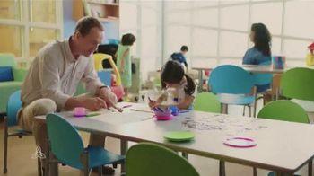 Peyton Manning Children's Hospital TV Spot, 'Coloring' Featuring Peyton Manning - Thumbnail 9