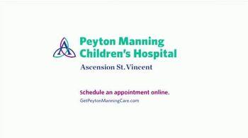 Peyton Manning Children's Hospital TV Spot, 'Coloring' Featuring Peyton Manning - Thumbnail 7