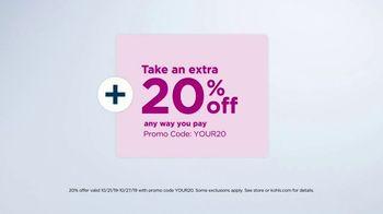 Kohl's 50 Percent Off Sale TV Spot, 'Stack the Savings' - Thumbnail 4